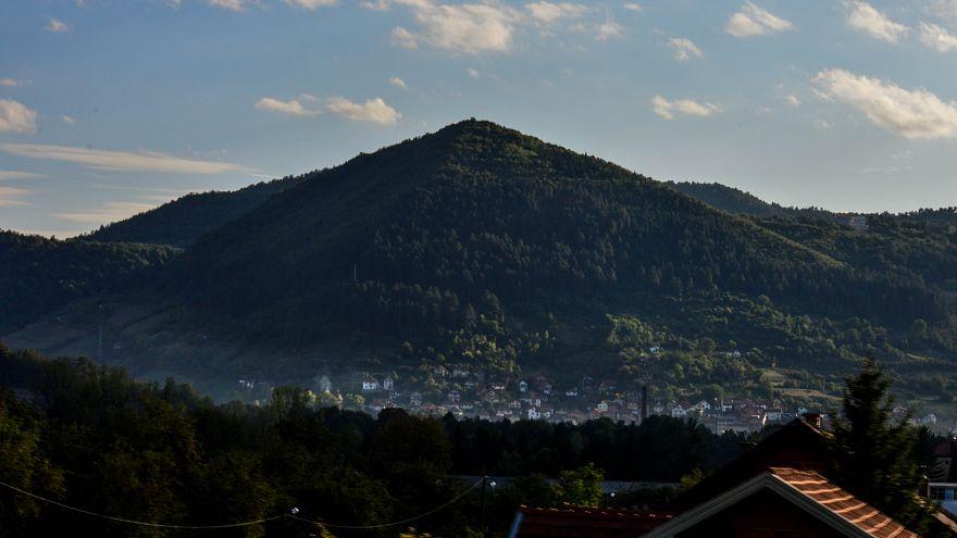 Bosnian 'pyramids', shunned by archaeologists, still draw tourists