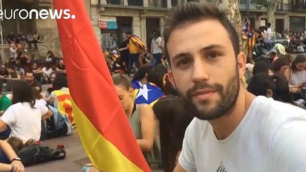 """Un catalán que votó """"NO"""" en el referéndum de Cataluña explica por qué fue a la huelga"""