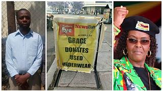 Grace Mugabe 'underwear donation' journalist released on $200 bail