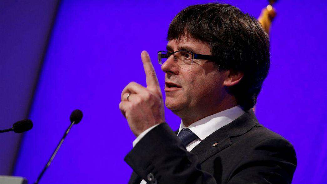 Presidente do governo regional da Catalunha promete aplicar resultado do referendo