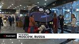Instalan un planetario móvil en el metro de Moscú
