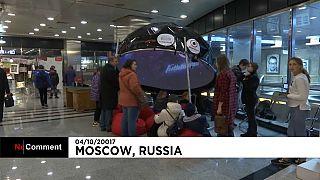 Planetário no Metro de Moscovo