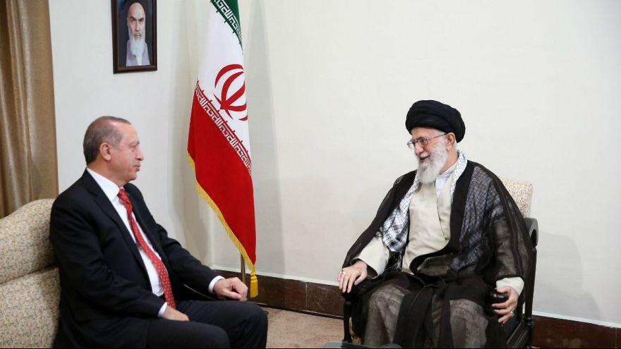 خامنه ای در دیدار با اردوغان: استقلال کردستان عراق تلاش قدرتهای خارجی برای ایجاد اسرائیل جدید است