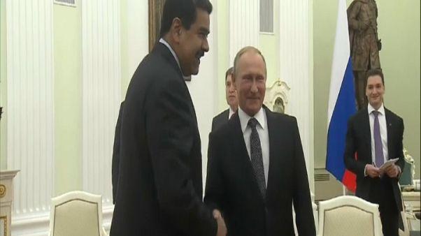 Maduro y Putin escenifican su buena sintonía