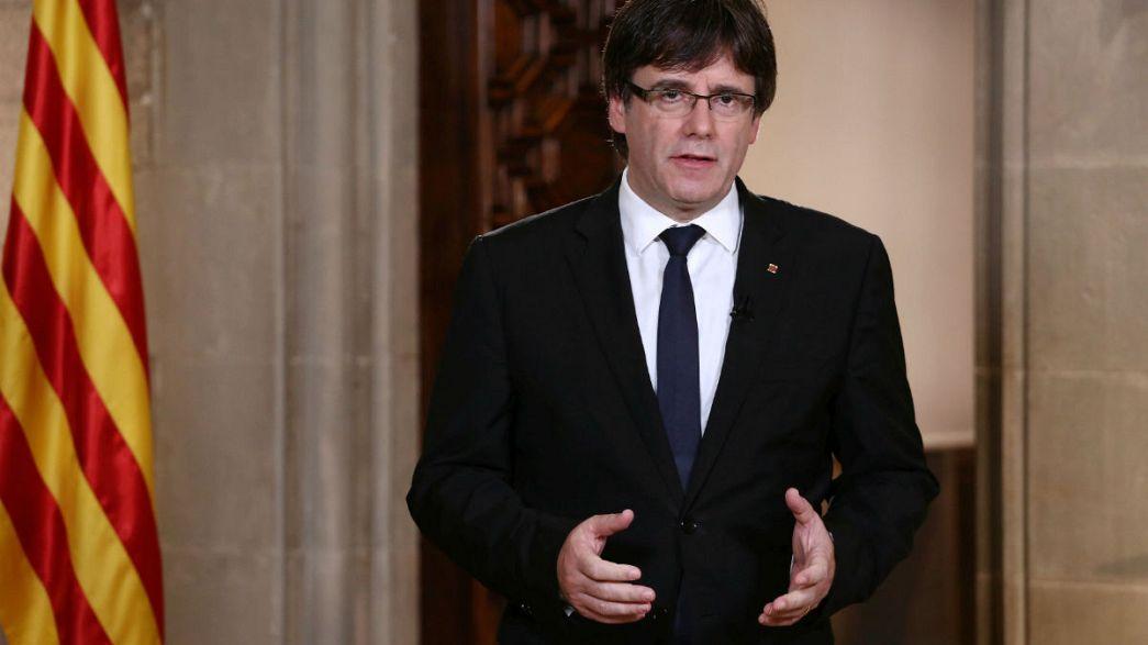 Katalonya başkanından İspanya Kralı Felipe'ye tepki