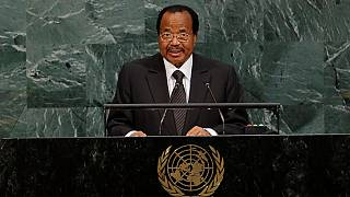 Cameroon's Biya writes to Trump over 'horrible' Las Vegas shooting