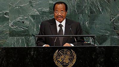 Cameroon's Biya writes to Trump over 'horrible' Las Vegas shooting
