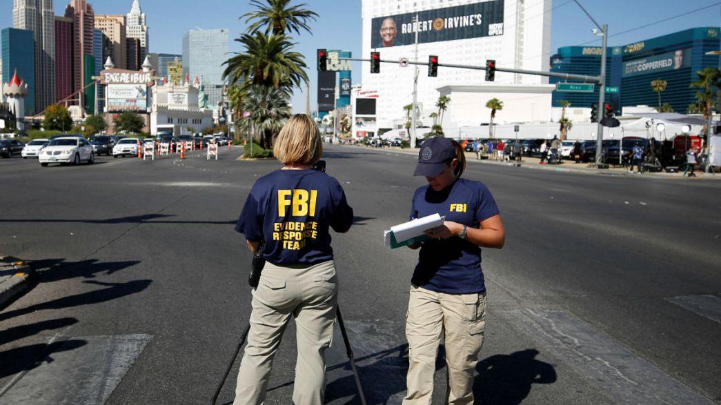 """""""Nunca imaginé algo así"""", dice la novia del asesino de Las Vegas"""