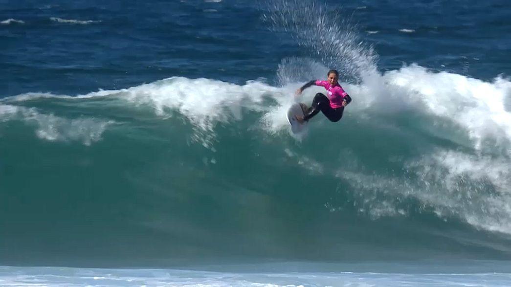 Les princesses du surf se sont retrouvées à Cascais