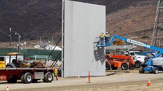 США-Мексика: прототип стены готов