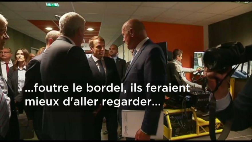 Macron újabb szerencsétlen elszólása
