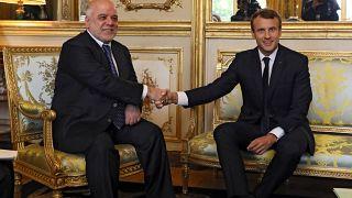 Macron defende reconhecimento de direitos curdos na Constituição iraquiana