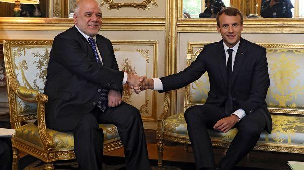 Συνάντηση Μακρόν-Αλ Αμπάντι στο Ελιζέ