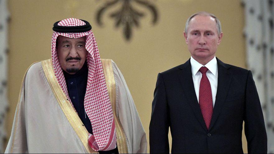 ملک سلمان در دیدار با پوتین خواهان توقف مداخلات ایران در خاورمیانه شد
