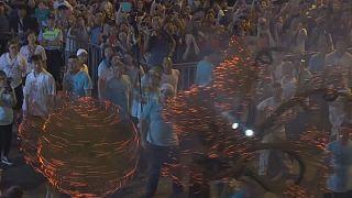 Hong Kong: Geleneksel Sonbahar Ortası Festivali