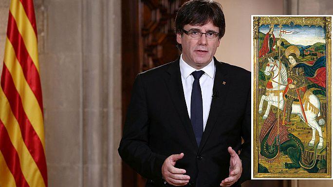 """La Catalogna risponde colpo su colpo a Madrid nella """"guerra dei quadri"""""""