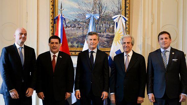 Argentina, Uruguay e Paraguay unite per i Mondiali 2030