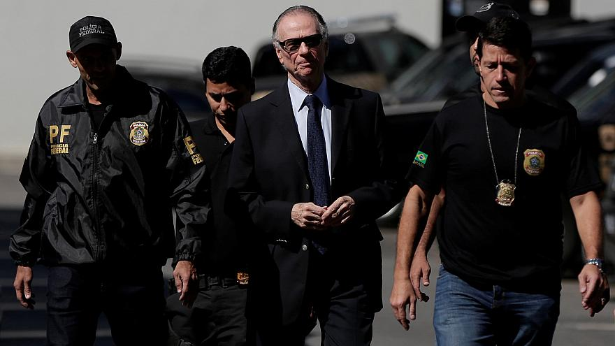 Brazil's Olympic chief Carlos Nuzman arrested in Rio in corruption scandal
