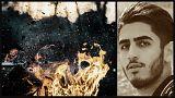 سلفی با مرگ؛ عاملان قتل جوان مهابادی با جنازه  در حال سوختن عکس گرفتند