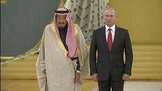Primeira visita oficial de um rei saudita à Rússia