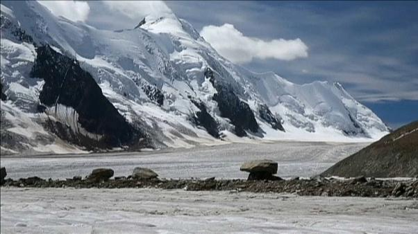 Global warming 'threatens Swiss Alps'