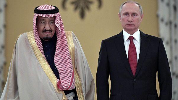 Suudi Kralı Abdulaziz Rusya'da S-400 konusunu görüştü