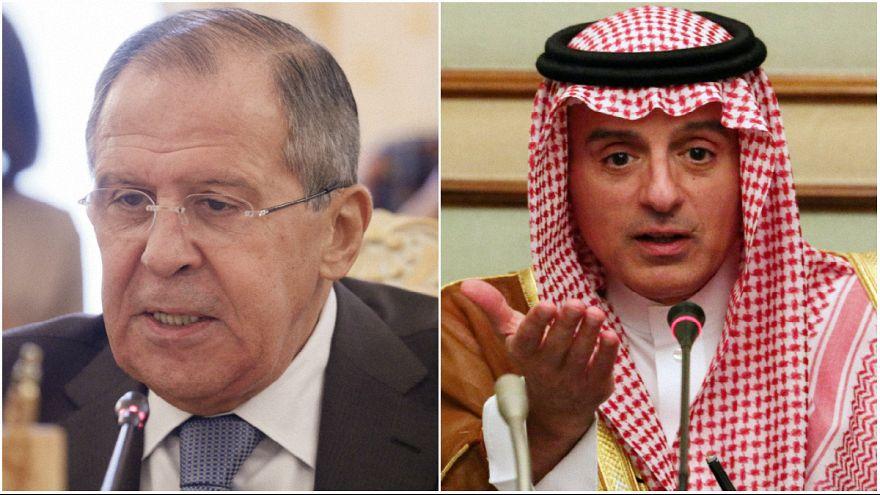 وزیر خارجه عربستان: با روسیه برای اتحاد اپوزیسیون و تمامیت ارضی سوریه همکاری میکنیم