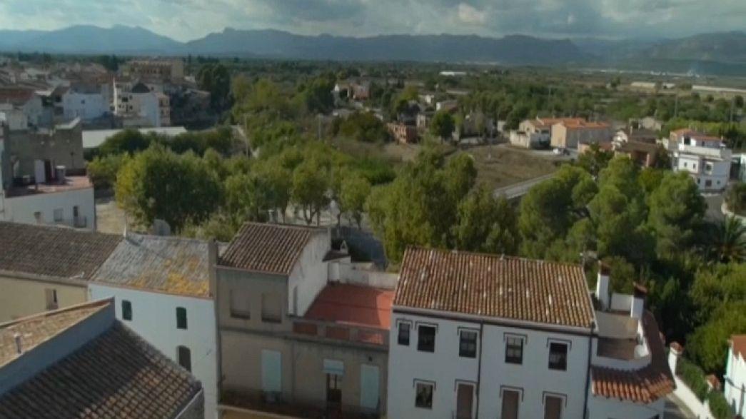 Onde está a fronteira da Catalunha?