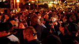 Novas imagens de um domingo de pânico em Las Vegas