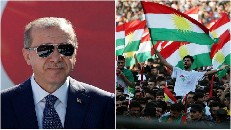 اردوغان: به زودی مرزهای هوایی و زمینی با اقلیم کردستان را میبندیم