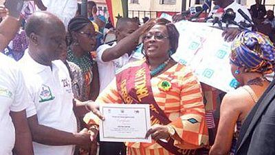 Primary 1 teacher adjudged 2017 overall Best Teacher in Ghana