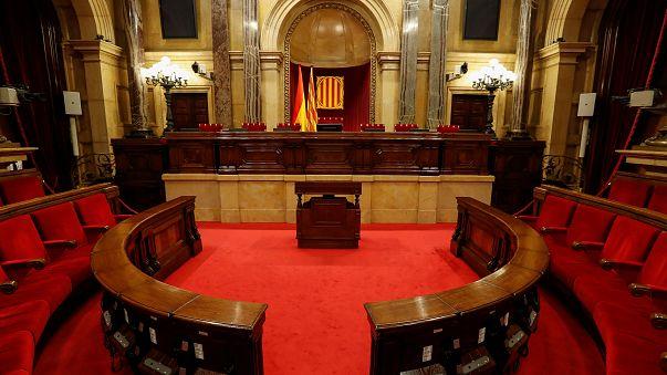 Spanien verbietet katalanische Parlamentssitzung
