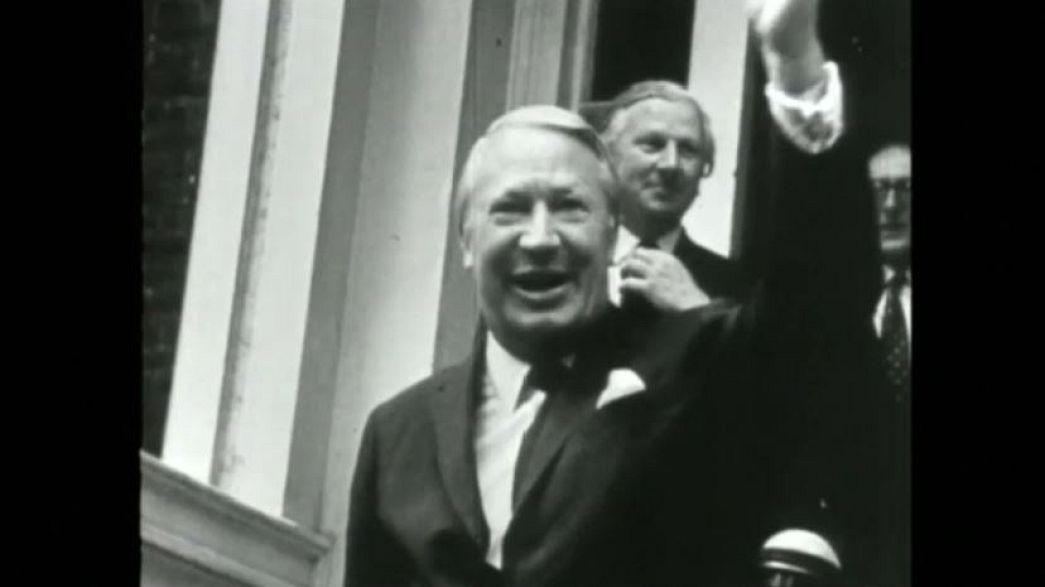 Former British PM, Sir Edward Heath: investigation into alleged sex offences