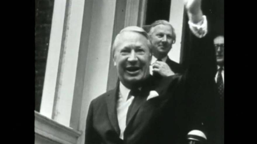 Former British PM, Sir Edward Heath: investigation into alleged sex offences