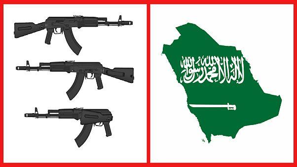 """رشاشات """"كلاشنيكوف"""" الروسية تصل إلى السعودية"""