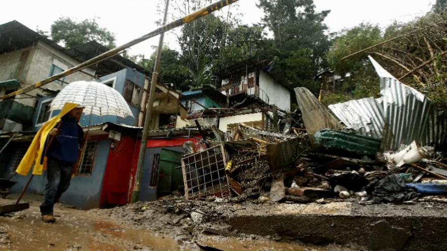 Коста-Рика: последствия шторма