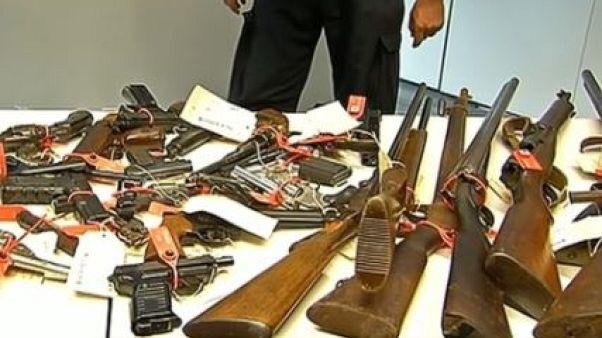 Aυστραλία: 51000 όπλα στα χέρια των αρχών