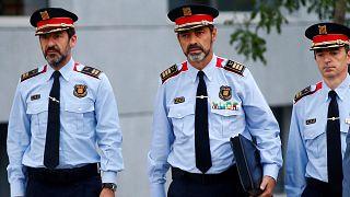 حضور رییس پلیس کاتالونیا در دادگاه عالی اسپانیا