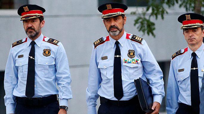 In tribunale il comandante della polizia catalana