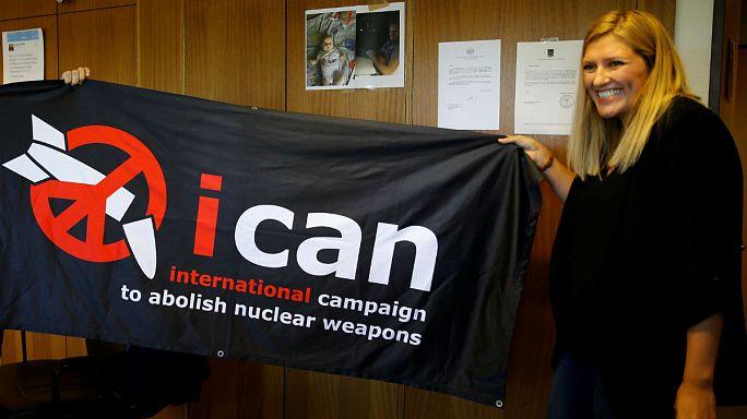 الحملة الدولية للقضاء على الأسلحة النووية تفوز بجائزة نوبل للسلام