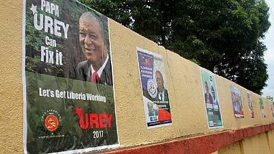 Election campaigns intensify ahead of Liberia's crucial polls