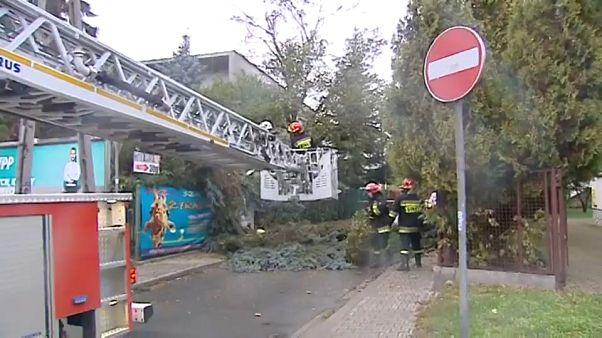 """Sturm """"Xavier"""" fordert 2 Todesopfer in Polen"""