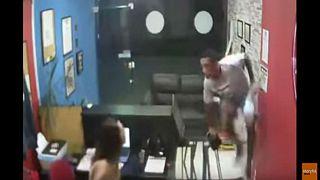 شاهد: حاول سرقة ناد صحي بالبرازيل.. فكانت في انتظاره مفاجأة!