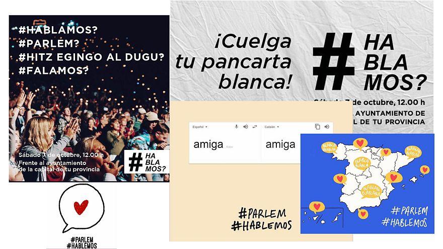 #parlemhablemos iniciativa ciudadana para el diálogo en Cataluña