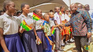 Free chocolate each day for every student, Ghana's president promises