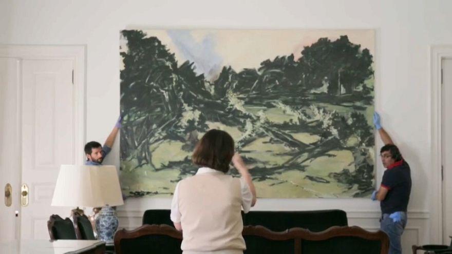 Arte no Palácio de São Bento