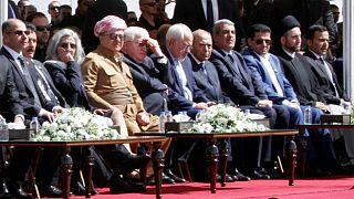 مراسم تشییع جنازه جلال طالبانی در سلیمانیه برگزار شد