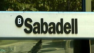 Spain's Caixabank and Gas Natural quit Catalonia