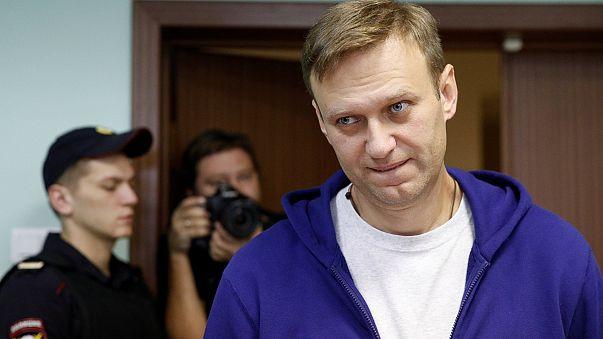 Навального оставили под арестом
