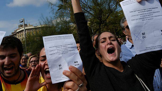 Cómo el accidentado referéndum de Cataluña esquivó a la policía